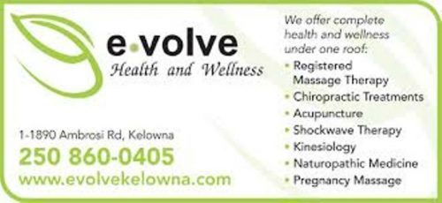 evolve kelowna new